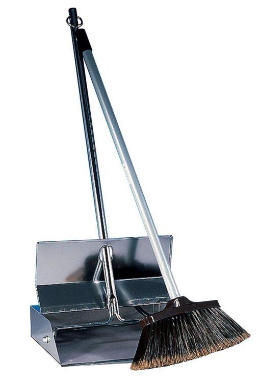 Long Handle Dust Pan & Brush